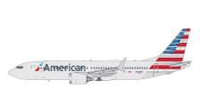 GJAAL1708   Gemini Jets 1:400 1:400   Boeing 737 MAX 8 American Airlines N324RA   is due: April 2018