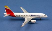 AC19259 | Aero Classics 1:400 | Airbus A319 Iberia EC-KHM, 'oneworld'