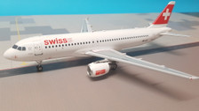 JF-A320-10 | JFox Models 1:200 | Airbus A320-200 Swiss International Air Lines  HB-IJS (with stand)
