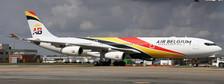 XX4420   JC Wings 1:400   Airbus A340-300 Air Belgium OO-ABA   is due: May 2018