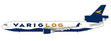 LH2124   JC Wings 1:200   MD-11 Varig LOG  PR-LGE (with stand)   is due: May 2018