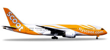 531627 | Herpa Wings 1:500 | Boeing 787-8 Scoot 9V-OFG,'Kama Scootra' | is due: July/August 2018
