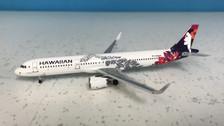 ACN204HA | Aero Classics 1:400 | Airbus A321-271NWL Hawaiin Airlines N204HA