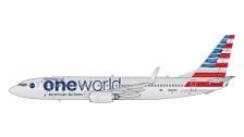 GJAAL1734 | Gemini Jets 1:400 1:400 | Boeing 737-800 American Airlines N836NN, 'oneworld'