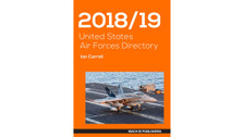USAFD1819 | Mach III Publishing Books | United States Air Forces Directory 2018/19 - Ian Carroll