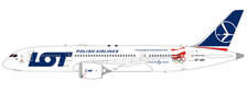 XX2081 | JC Wings 1:200 | Boeing 787-8 LOT SP-LRH, 'Winter Olympics' (with stand) | is due: July 2018
