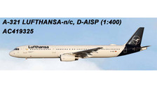 AC419325 | Aero Classics 1:400 | Airbus A321 Lufthansa D-AISP (new colours) | is due: July 2018