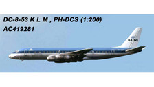 AC219281 | Aero Classics 200 1:200 | DC-8-50 KLM PH-DCS | is due: July 2018