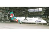 EL50801 Hogan Die-cast 1:500 DHC8-300 ANK Air Nippon Network 'Tsubaki' JA801K
