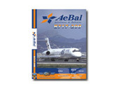 ABH1 World Air Routes (Just Planes) DVD AeBal Aerolineas de Baleares 717-200 185 Minutes