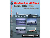 APS08 Airline Hobby DVD Golden Age Airlines, Sampler 1940s - 1960s 123 Minutes