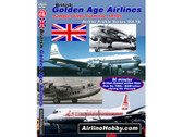 APS16 Airline Hobby DVD British Golden Age Airlines, Sampler Films From the 1950s 86 Minutes
