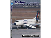 APS10 Airline Hobby DVD Malev Hungarian Airlines, On Board Tu-134 & More 60 Minutes