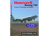 APS20 Airline Hobby DVD Honeywell Boeing 720 Crew Training at KIWA 'The most extensive live filming of the Boeing 720 ever released'<br>131 Minutes