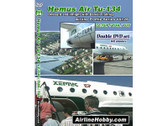 APS28 Airline Hobby DVD Hemus Air Tu-134: Onboard and Inflight with Daniel Frohriep LZ-TUP, -TUH, -TUT 162 Minutes Double DVD Set