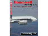 APS19 Airline Hobby DVD Honeywell Boeing 720: Air-to-Air Photo Shoot 60 Minutes