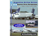 APS31 Airline Hobby DVD Argentina Airline Action: Buenos Aires Aeroparque 97 Minutes