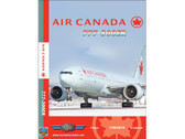 ACA2 World Air Routes (Just Planes) DVD Air Canada 777-300ER 233 Minutes