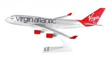 SM747-15WB | Premier Planes 1:250 | Boeing 747-400 Virgin Atlantic