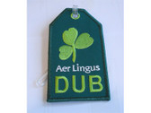 TAG003 Bag Tags Luggage Tag Aer Lingus 'DUB'