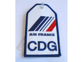 TAG011 Bag Tags Luggage Tag Air France 'CDG'
