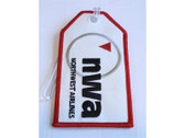 TAG140 Bag Tags Luggage Tag Northwest Airlines