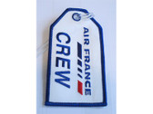 TAG010 Bag Tags Luggage Tag Air France 'Crew'
