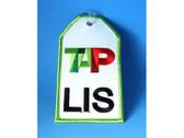 """TAG181 Bag Tags Luggage Tag TAP """"LIS"""""""