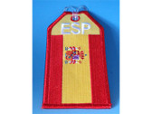 TAG317 Bag Tags Luggage Tag Spain Flag