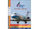 BKP1 World Air Routes (Just Planes) DVD Bangkok Airways 717-200, ATR-72 123 Minutes
