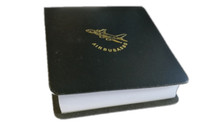 LT002 | A380 Leather Notepad Block (black)