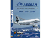 AEE1 World Air Routes (Just Planes) DVD Aegean A320, A321, RJ100 152 Minutes