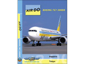 ADO1 World Air Routes (Just Planes) DVD Air DO Boeing 767-300ER 139 Minutes