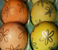 Mexican Cascarones Confetti Easter Eggs - 2 Dozen