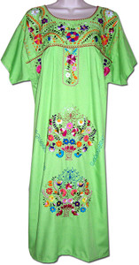 Mexican Embroidered Fiesta Dress XL
