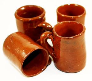 Mexican tequila shot glasses