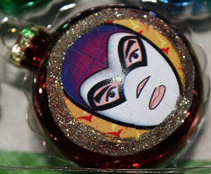 Lucha Libre Luchador Christmas Ornaments Decorations