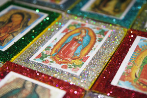 Virgen de Guadalupe Quinceanera Wedding Matchbox Favors - Set of 100