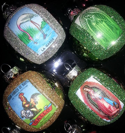 Loteria Luchador Mexican Christmas Decorations - Mixed Set