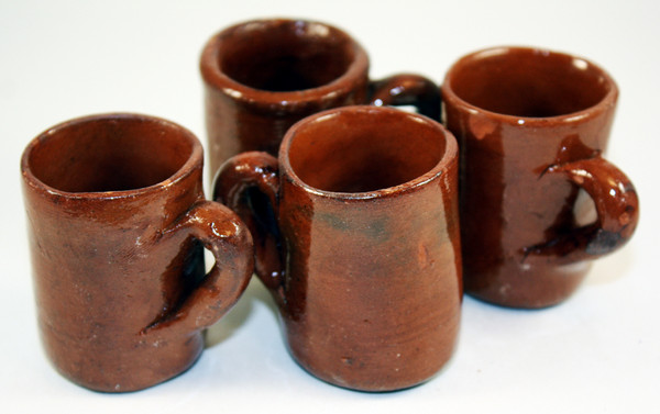 Mini Party Favor Mexican Tequila Mug Shot Glass - Set of 10