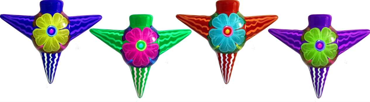 Mexican Clay Ornaments