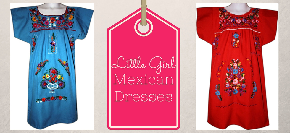 Mexican dresses just like mommy!