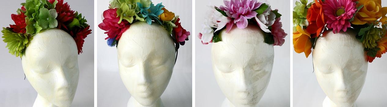 Frida Style Flower Crowns