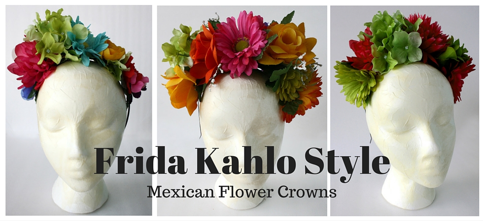 Fun and colorful  flower crowns