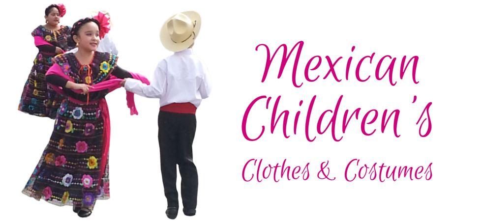 Authentic Mexican clothing for your children