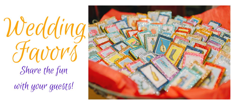 One-of-a-kind Mexican Wedding Favors