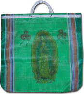 Virgen de Guadalupe Mexican Mercado Bag