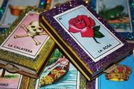 Loteria Mexican Wedding Matchbox Favors