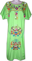 Mexican Embroidered Fiesta Dress L