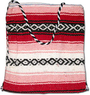 Mexican Serape Purse Large